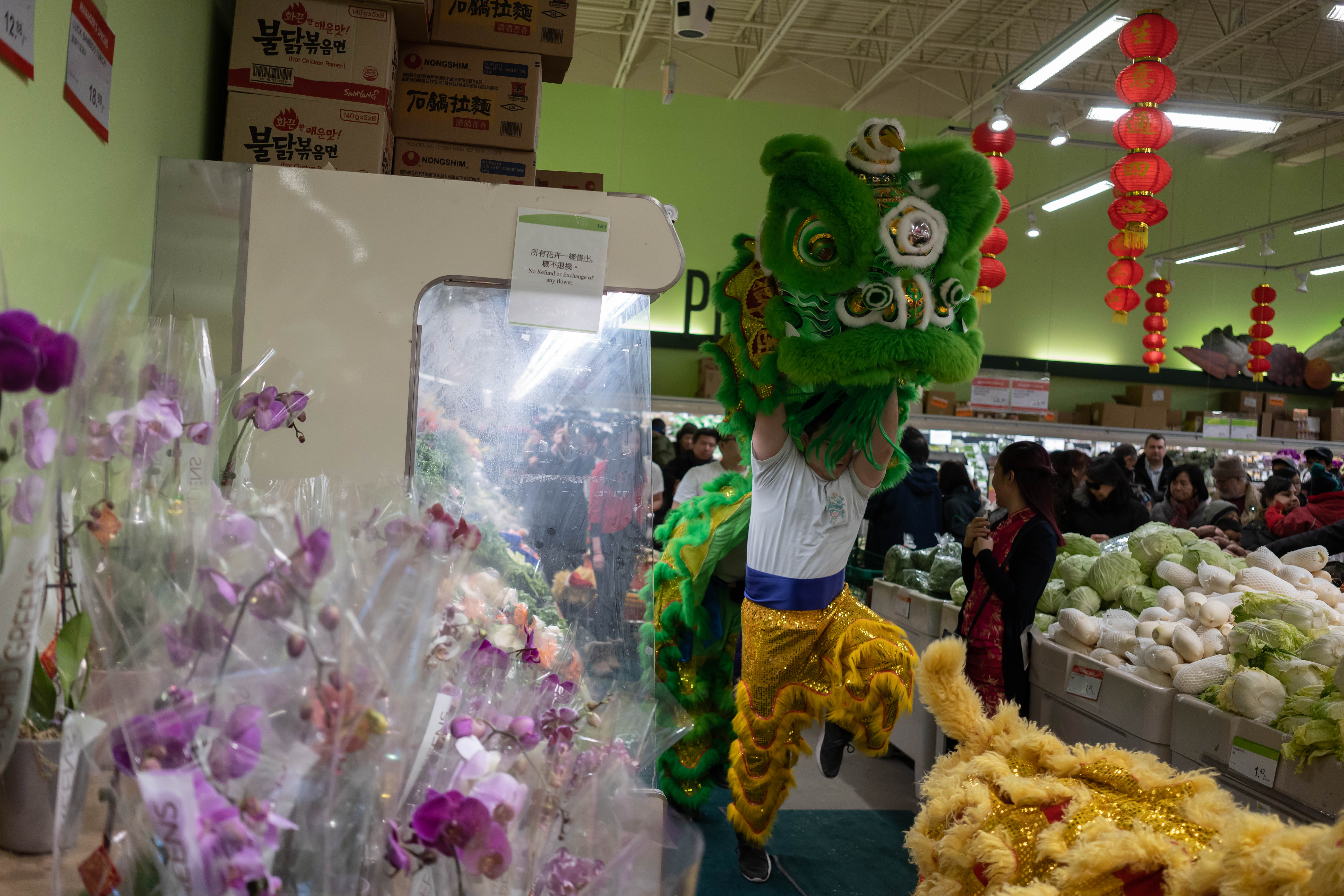 T&T Supermarket CNY 2019 Lion Dance-12